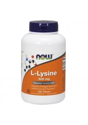 L-Lysine 500 мг 250 табл (NOW)