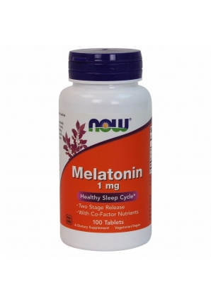 Melatonin 1 мг 100 табл (NOW)