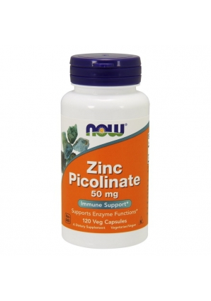 Zinc Picolinate 50 мг 120 капс (NOW)