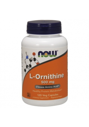 L-Ornithine 500 мг 120 капс (NOW)