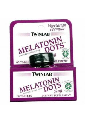 Melatonin 3 мг 60 табл (Twinlab)