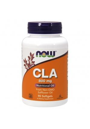 CLA 800 мг - 90 гель-капс (NOW)