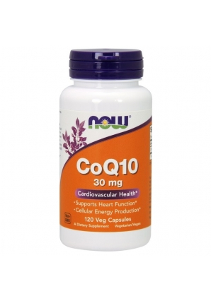 CoQ10 30 мг 120 капс (NOW)