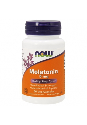 Melatonin 5 мг 60 капс (NOW)