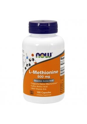 L-Methionine 500 мг 100 капс (NOW)