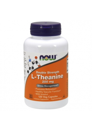 L-Theanine 200 мг 120 капс (NOW)