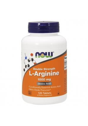 L-Arginine 1000 мг 120 табл (NOW)
