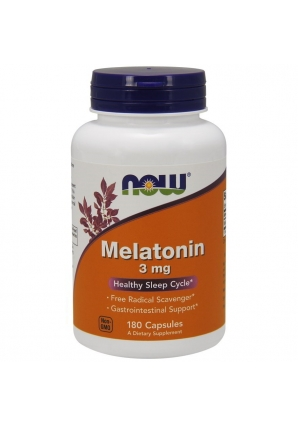 Melatonin 3 мг 180 капс (NOW)