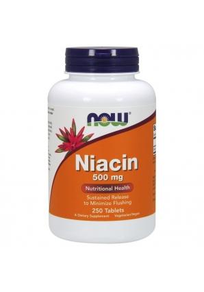 Niacin 500 мг 250 табл (NOW)