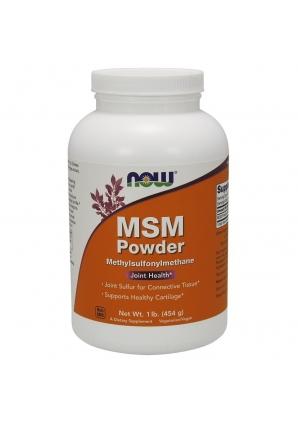 MSM Powder 454 гр - 1 lb (NOW)