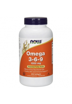Omega 3-6-9 1000 мг 250 капс (NOW)