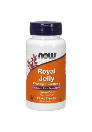 Royal Jelly 1500 мг 60 капс (NOW)