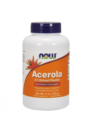Acerola Powder 170 гр - 6 oz (NOW)