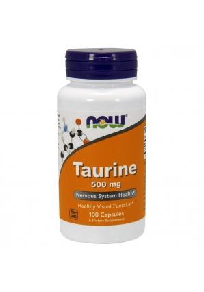 Taurine 500 мг - 100 капс (NOW)