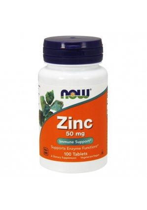 Zinc Gluconate 50 мг 100 табл (NOW)