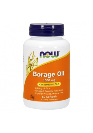 Borage Oil 1000 мг 60 капс (NOW)