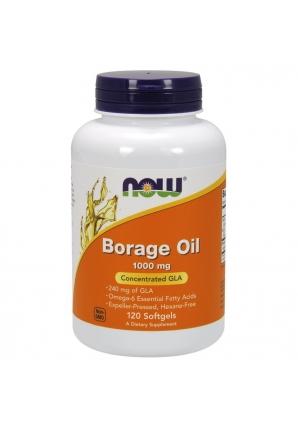Borage Oil 1000 мг 120 капс (NOW)