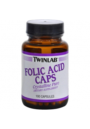Folic Acid Caps 100 капс (Twinlab)
