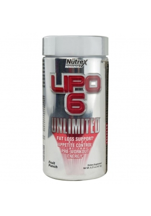 Lipo-6 Unlimited Powder 136-150 гр (Nutrex)