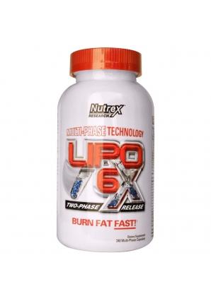 Lipo-6X 240 капс. (Nutrex)