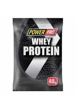 Whey Protein 1 шт 40 гр (Power Pro)