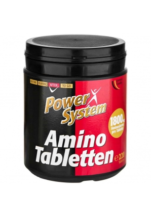 Amino Tabletten 220 табл (Power System)