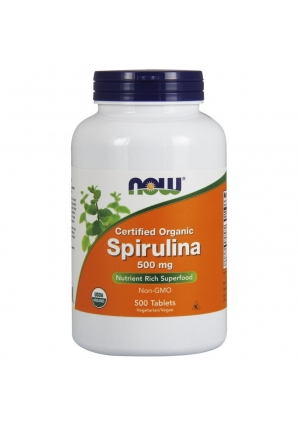 Spirulina 500 мг 500 табл (NOW)
