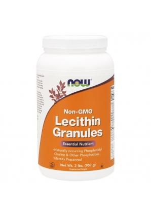 Lecithin Granules Non-GMO 907 гр 2lb (NOW)