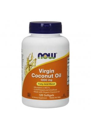 Virgin Coconut Oil 1000 мг 120 капс (NOW)