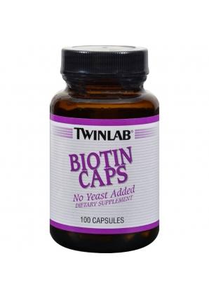 Biotin Caps 600 мкг 100 капс (Twinlab)