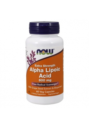 Alpha Lipoic Acid 600 мг 60 капс (NOW)