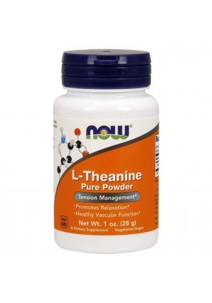 L-Theanine Powder 28 гр 1 oz (NOW)