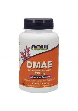 DMAE 250 мг 100 капс (NOW)