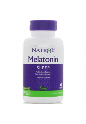 Melatonin 3 мг 240 табл (Natrol)