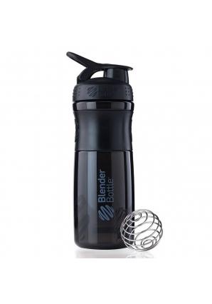 SportMixer Black 828 мл (BlenderBottle)