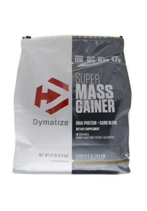 Super Mass Gainer 5443 гр. 12lb пак. (Dymatize)