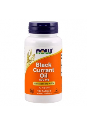 Black Currant Oil 500 мг 100 капс (NOW)