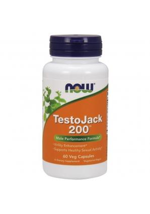 Testo Jack 200 - 60 капс (NOW)