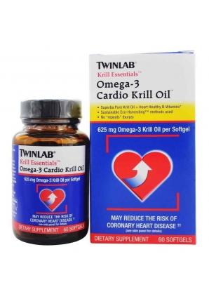Omega-3 Cardio Krill Oil 60 капс (Twinlab)