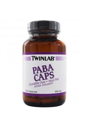 PABA 500 мг 100 капс (Twinlab)