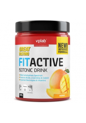 Fit Active Isotonic Drink 500 гр (VPLab)