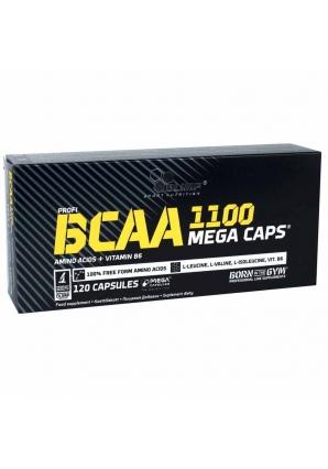 BCAA Mega Caps 1100 120 капс (Olimp)