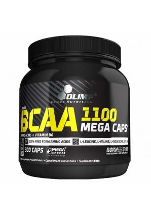 BCAA Mega Caps 1100 300 капс (Olimp)