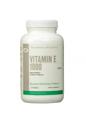 Vitamin E 1000 50 капс (Universal Nutrition)