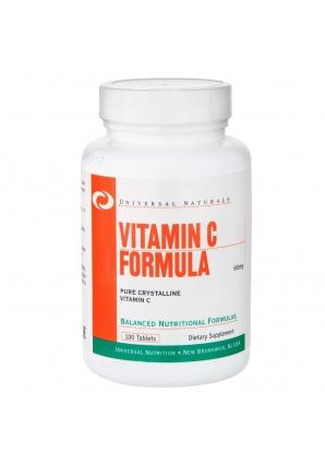 Vitamin C Formula 100 табл (Universal Nutrition)