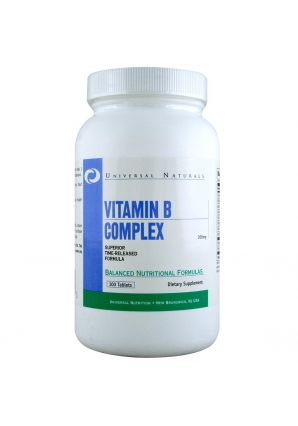 Vitamin B Complex 100 табл (Universal Nutrition)