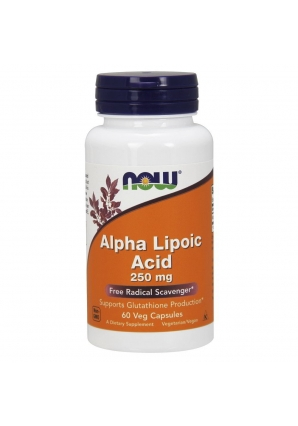 Alpha Lipoic Acid 250 мг 60 капс (NOW)