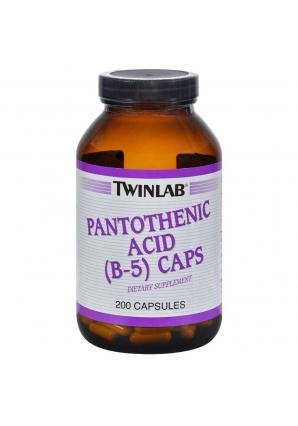 Pantothenic Acid (B-5) Caps 500 мг 200 капс. (Twinlab)