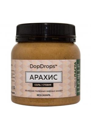 Арахисовая паста стевия без привкуса 250 гр (DopDrops)