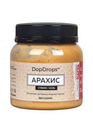 Протеиновая паста Арахис, морская соль, стевия 250 гр (DopDrops)
